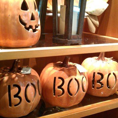DIY Faux Ceramic Pumpkins