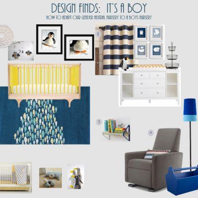 Design Finds: It's a Boy!