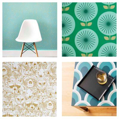 Design Finds – Temporary Wallpaper