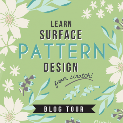 Design Surface Patterns from Scratch Blog Hop + Free Wallpaper Downloads