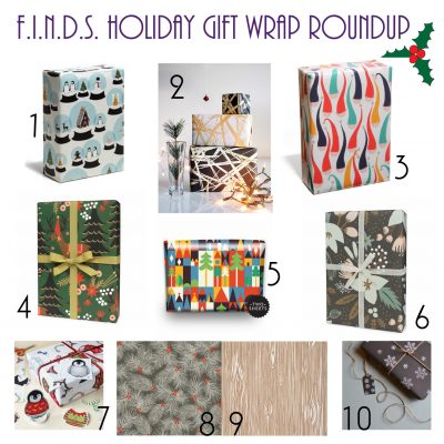 F.I.N.D.S. Holiday Gift Wrap Roundup