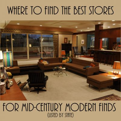 Best Stores for Mid-Century Modern Finds