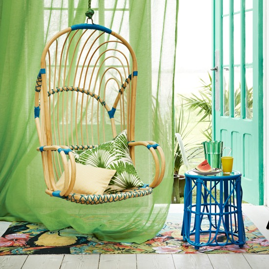 Hanging Bamboo Chair   FINDS   Chair Of The Month