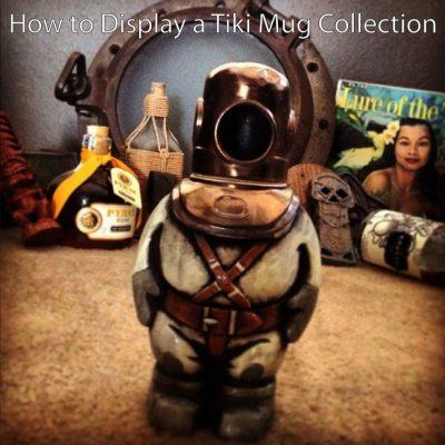 How to Display a Tiki Mug Collection