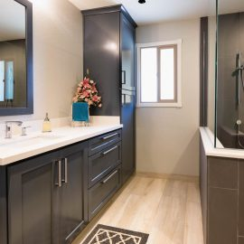 Tempe Transformation – Master Bathroom Remodel – Studio Em Interiors