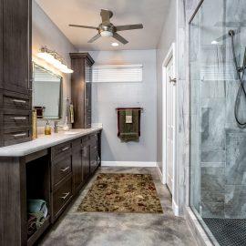 Lakeside Rebuild – Master Bath Remodel – Studio Em Interiors