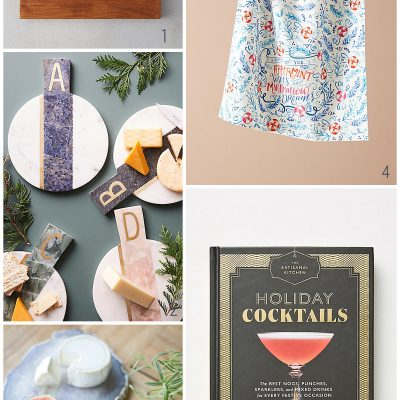 FOR THE HOSTESS - STUDIO EM INTERIORS 2017 GIFT GUIDE